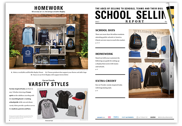 2017 School Selling Report
