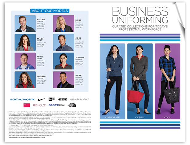 Business Uniforming Catalog