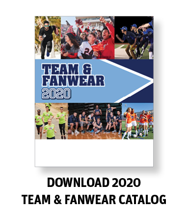 Team and Fanwear Catalog